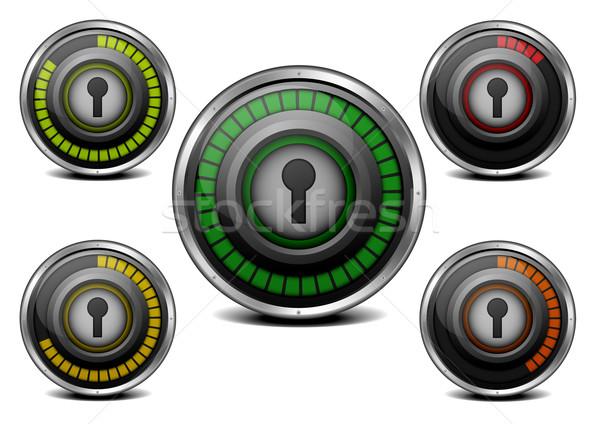 password security meter Stock photo © unkreatives