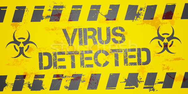 Virus Detected Stock photo © unkreatives