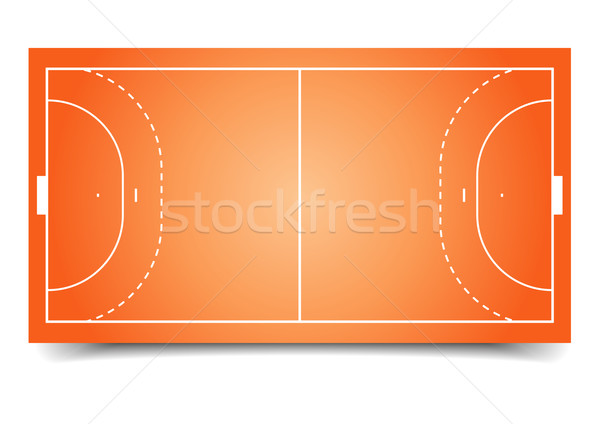 handball field Stock photo © unkreatives