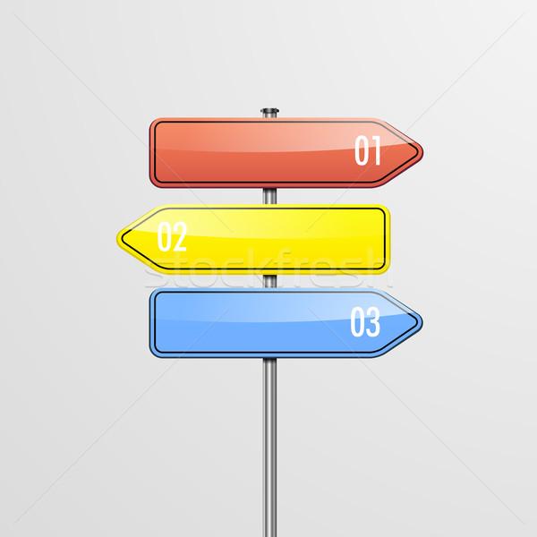 Détaillée illustration modèle trois Photo stock © unkreatives
