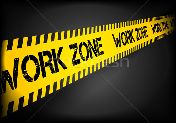 Work Zone Line Stock photo © unkreatives