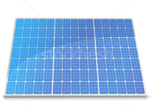 solar cells Stock photo © unkreatives