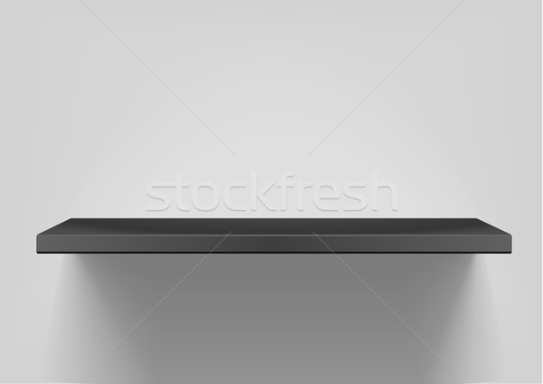 black shelf Stock photo © unkreatives