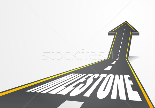 Stock photo: milestone