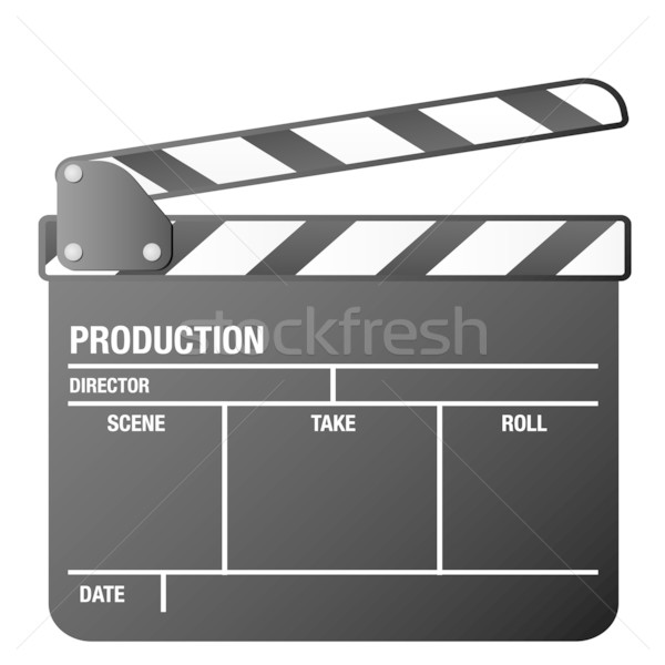clapper board Stock photo © unkreatives
