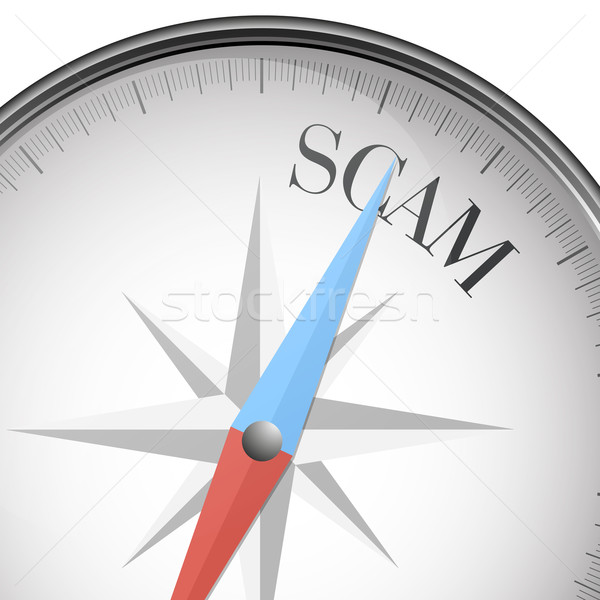 compass scam Stock photo © unkreatives