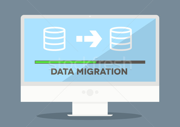 pc Data Migration Stock photo © unkreatives