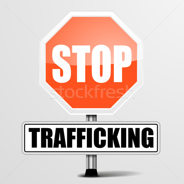 Stop Trafficking Stock photo © unkreatives