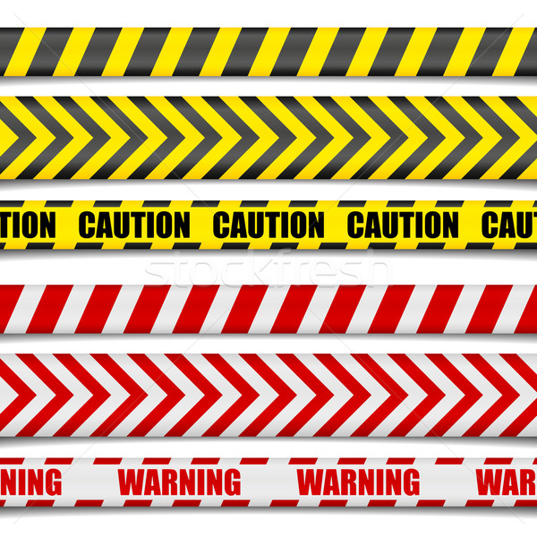 Caution Lines Stock photo © unkreatives