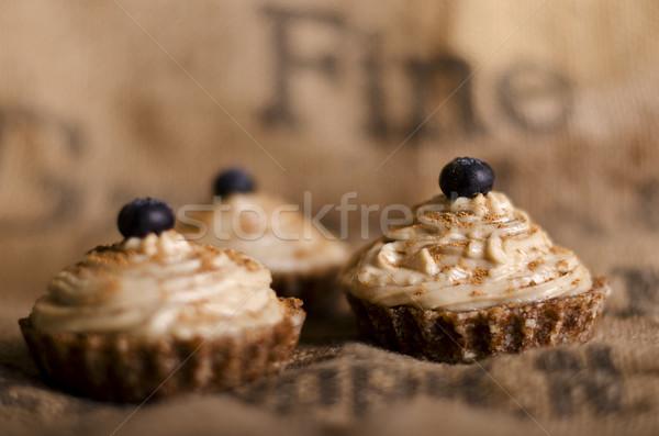 Rauw voedsel top veganistisch ingrediënten Stockfoto © unkreatives
