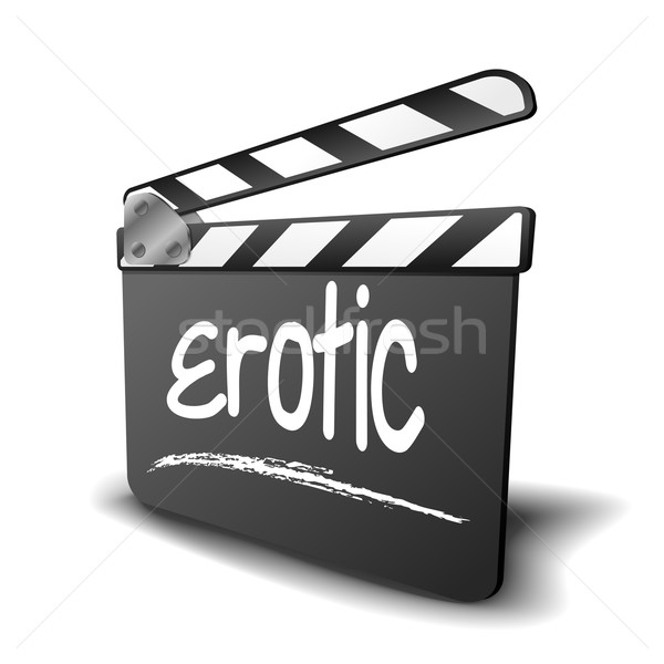 Clapper Board erotic Stock photo © unkreatives