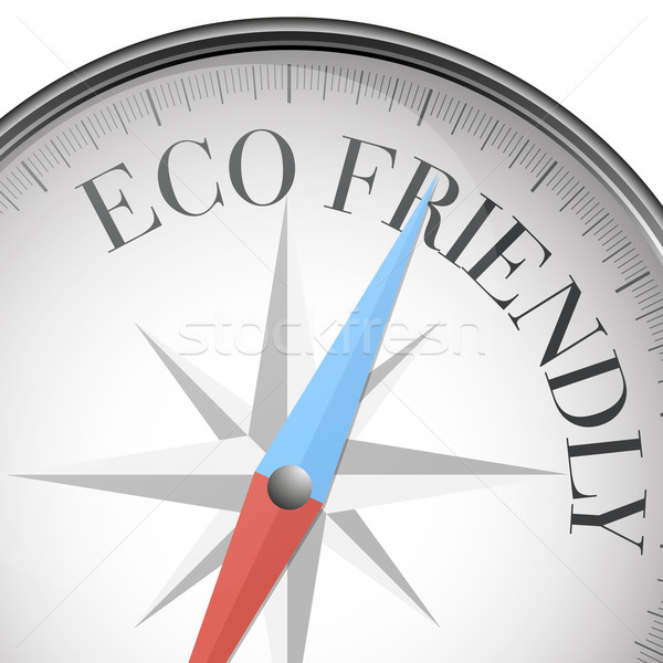 compass Eco Friendly Stock photo © unkreatives