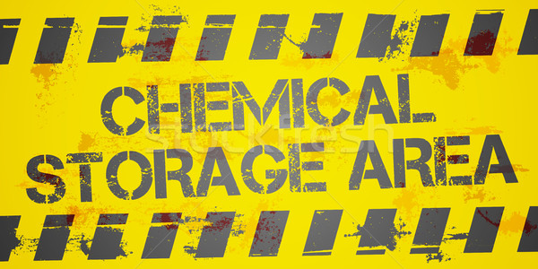 Stock photo: Chemical Storage Area