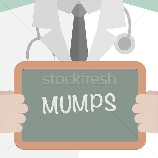 Mumps Stock photo © unkreatives