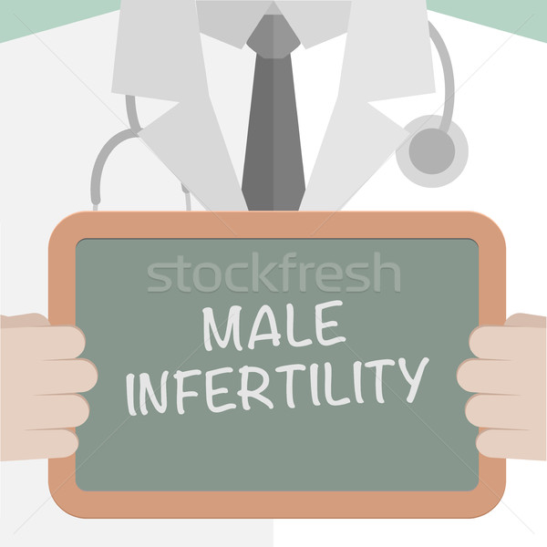 Board Male Infertility Stock photo © unkreatives