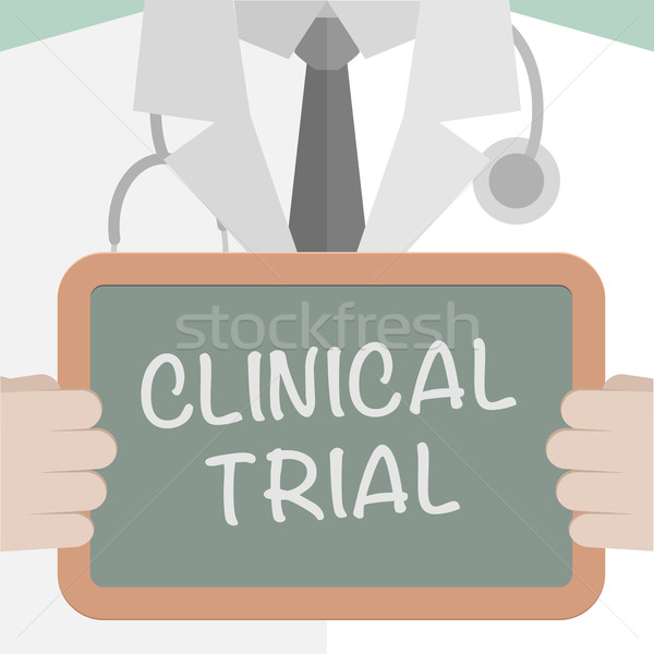 Medical Board Clinical Trial Stock photo © unkreatives
