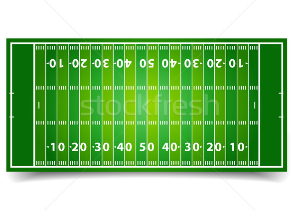 American Football Field Stock photo © unkreatives