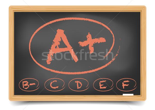 Grades Stock photo © unkreatives