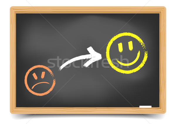 Satisfaction Smilies Stock photo © unkreatives