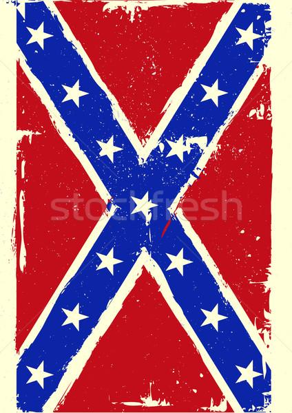 confederation flag Stock photo © unkreatives
