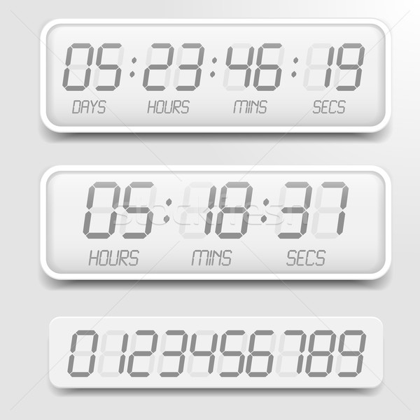 Digital Countdown Timer Stock photo © unkreatives