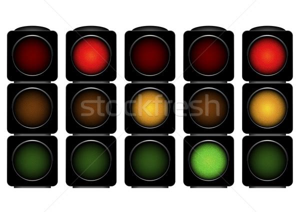 traffic lights Stock photo © unkreatives
