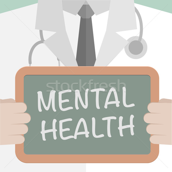 Medical Board Mental Health Stock photo © unkreatives