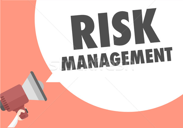 Megaphone Risk Management Stock photo © unkreatives