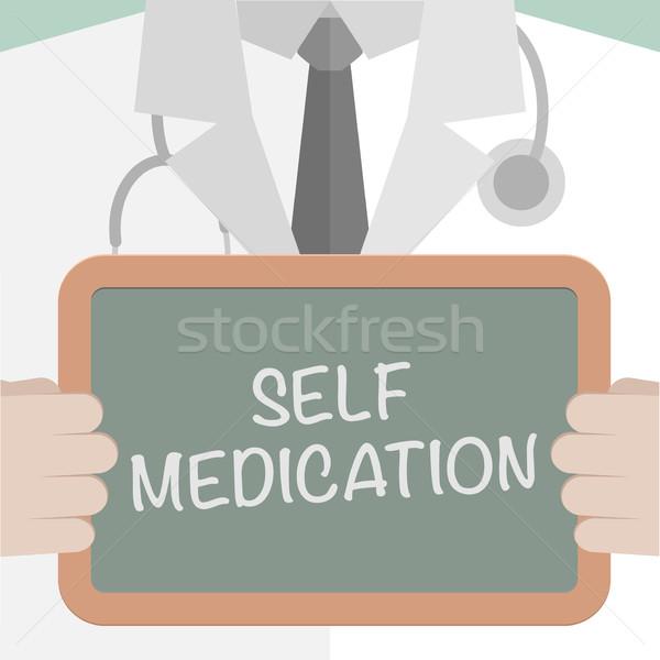 Board Self Medication Stock photo © unkreatives
