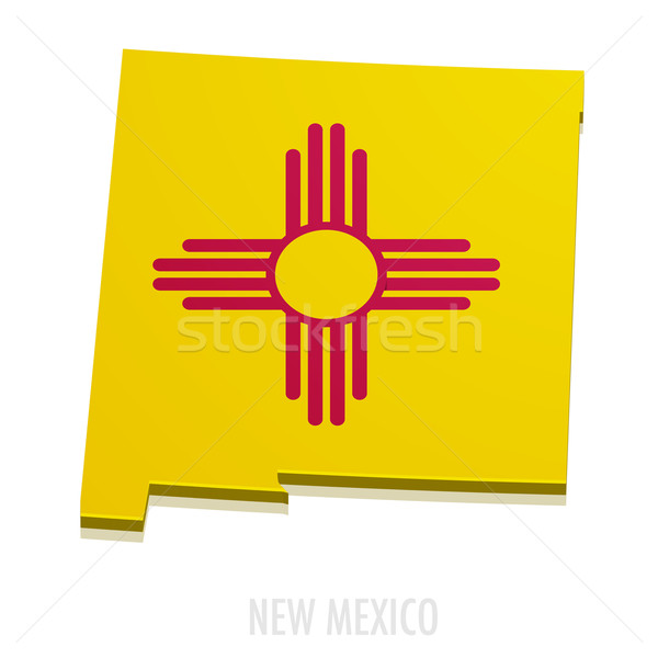 Map New Mexico Stock photo © unkreatives
