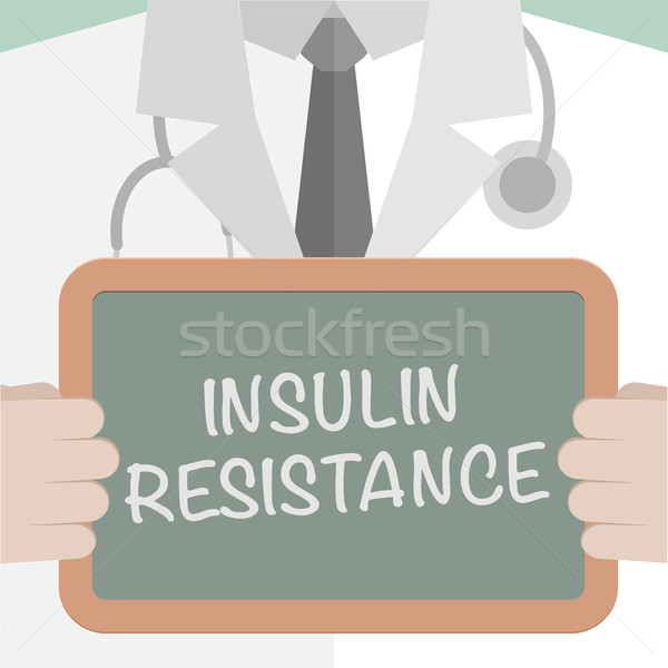 Board nsulin Resistance Stock photo © unkreatives