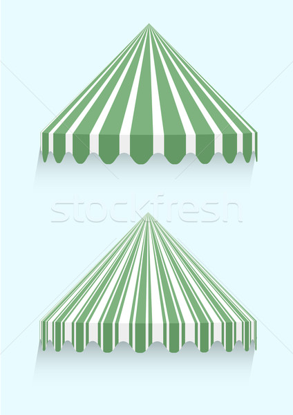 conical awnings Stock photo © unkreatives