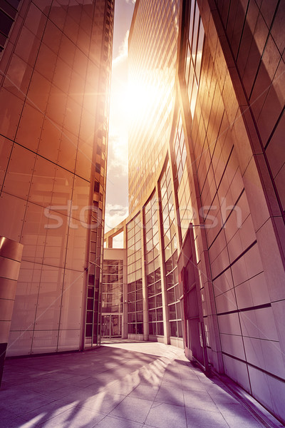 office complex in the sun Stock photo © unkreatives