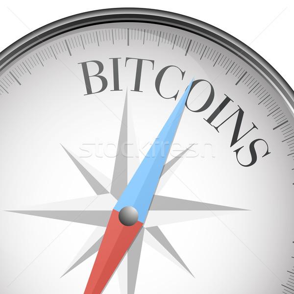 compass Bitcoins Stock photo © unkreatives