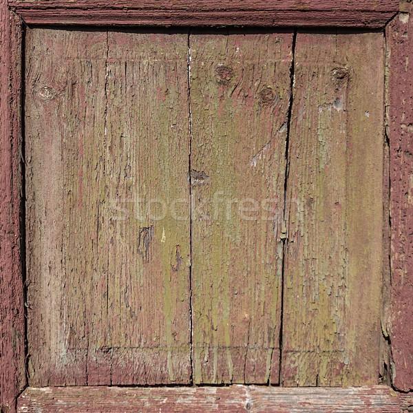 wood panel frame Stock photo © unkreatives