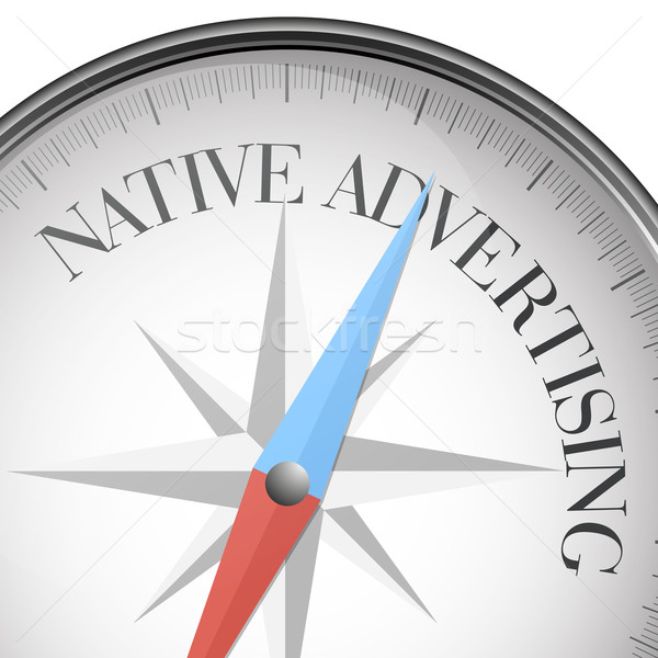 compass Native Advertising Stock photo © unkreatives