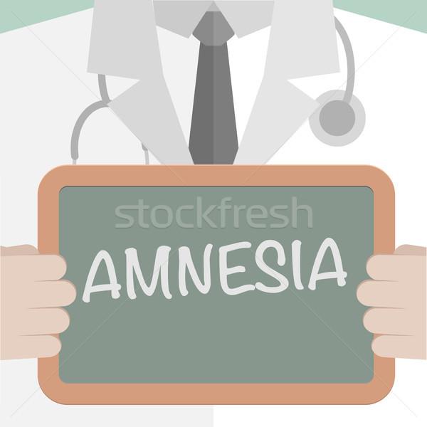 Medical Board Amnesia Stock photo © unkreatives