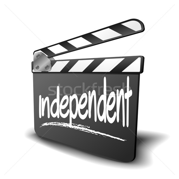 Clapper Board independent Stock photo © unkreatives