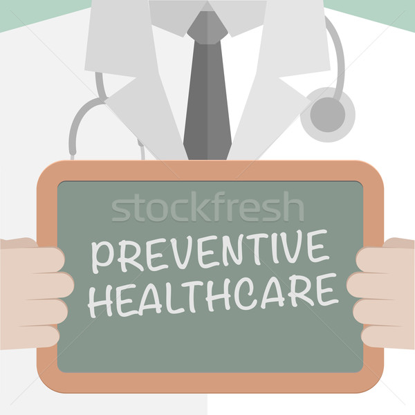 Médicos bordo preventivo salud ilustración Foto stock © unkreatives