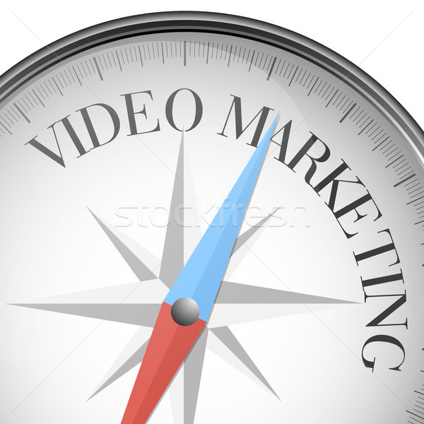 compass Video Marketing Stock photo © unkreatives