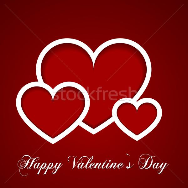 valentine hearts Stock photo © unkreatives