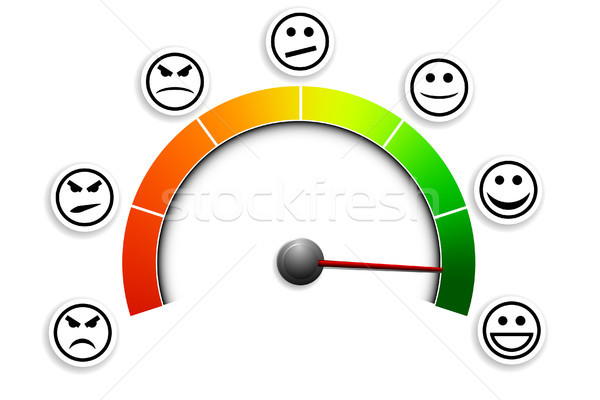 Stock photo: satisfaction_meter_03