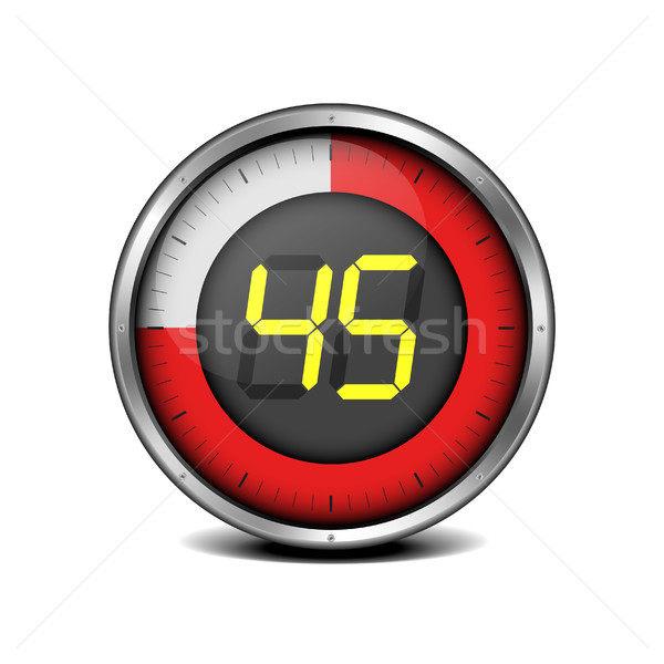 timer digital 45 Stock photo © unkreatives