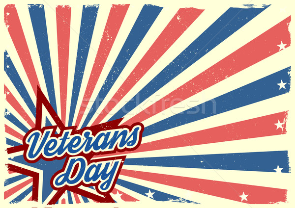 Veterans Day background Stock photo © unkreatives