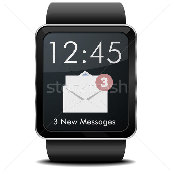 Smartwatch Mail Stock photo © unkreatives