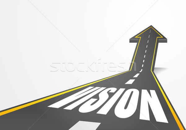 Road to vision Stock photo © unkreatives