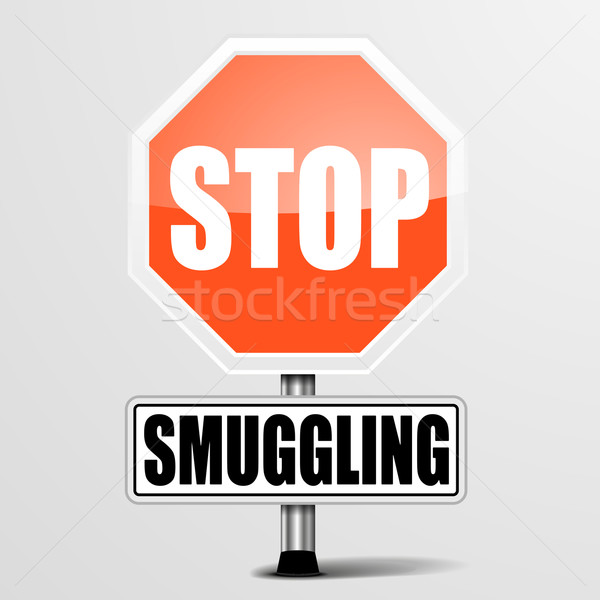 Stop Smuggling Stock photo © unkreatives