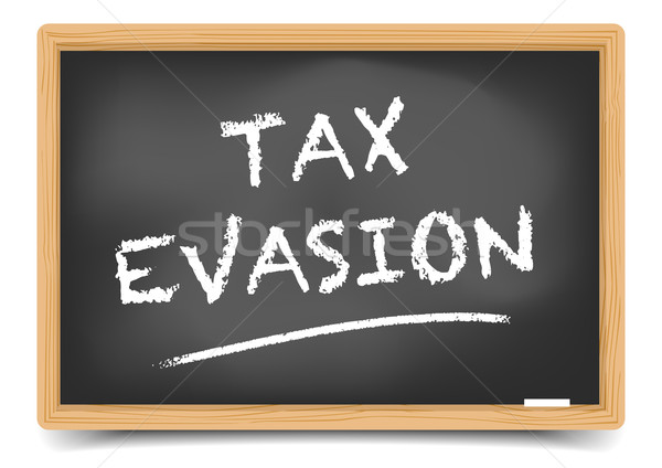 Blackboard Tax Evasion Stock photo © unkreatives