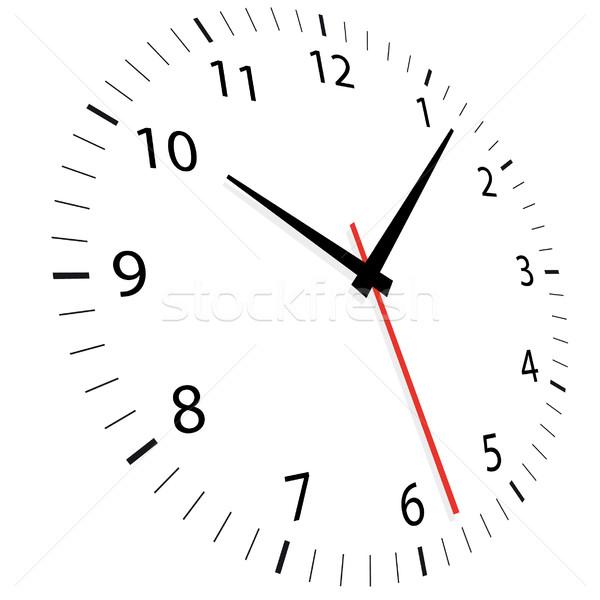 Tempo clock sfondo segno velocità retro Foto d'archivio © unkreatives