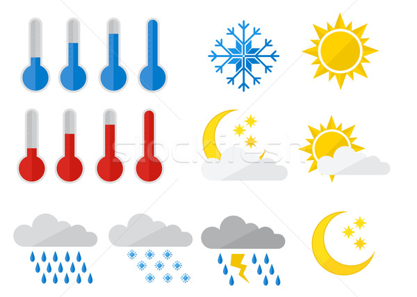 Weather Icons Stock photo © unkreatives